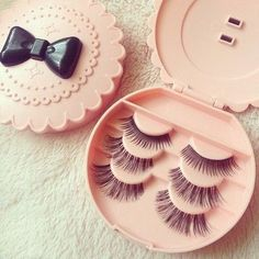 Fake lashes always finish your look for a wedding or special event!