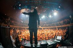 Skrillex and Zedd @ Exchange LA - January 26, 2012