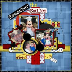 Disney scrapbook