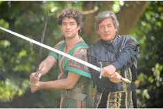 Robin Hood adaptation with Nigel Havers as the evil Sheriff of Nottingham... that sword looks a bit heavy