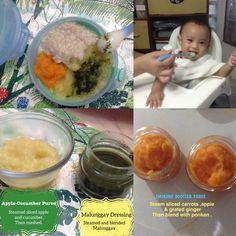 Baby foodsssss!!!! Cucumber, Carrots, Apple, Baby, Apple Fruit, Carrot, Baby Humor, Infant, Babies
