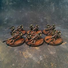 Astra Militarum GuardHeavy Weapon Teams #40k #wh40k #warhammer40k #40000 #wh40000 #warhammer40000 #guard #astra #militarum #gw #gamesworkshop #wellofeternity #miniatures #wargaming #hobby