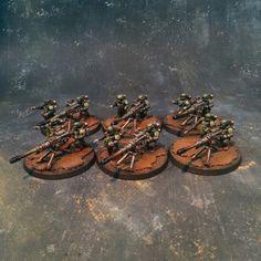 Astra Militarum GuardHeavy Weapon Teams #40k #wh40k #warhammer40k #40000 #wh40000 #warhammer40000 #guard #astra #militarum #gw #gamesworkshop #wellofeternity #miniatures #wargaming #hobby