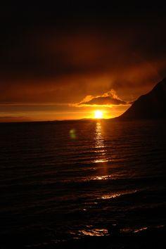 Midnight Sun, Norway.
