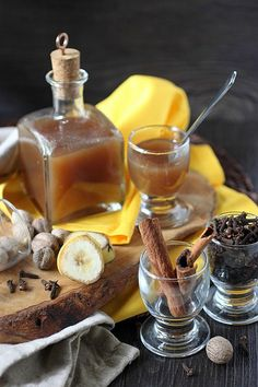 A sweet creamy liqueur with the concentrated flavor of ripe bananas and warm fall spices. Use this liqueur for drinking, baking, or pretty much whenever you need a spiced banana punch in the taste buds. http://www.mind-over-batter.com