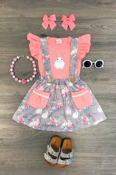 New fashion baby dress fashion outfits for toddlers kide fashion Toddler Girl Easter Outfit, Cute Baby Girl Outfits, Cute Baby Clothes, Toddler Outfits, Cute Outfits, Easter Girl Outfits, Baby Girl Fashion, Toddler Fashion, Kids Fashion
