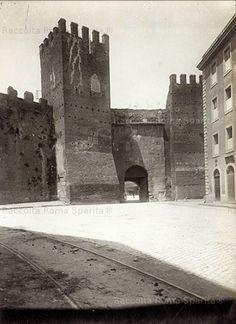 Foto storiche di Roma - Porta Tiburtina (o porta San Lorenzo)