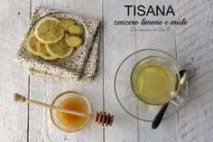 TIsana con zenzero limone e miele una bevanda detossicante e che accelera il metabolismo ricetta tisana con zenzero limone e miele