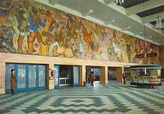 Interior antigua Estación de trenes de Concepción, actual Intendencia