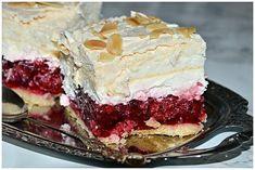 Malinowy król Sweet Recipes, Cake Recipes, Polish Recipes, Food Cakes, Cookie Desserts, Cake Cookies, No Bake Cake, Food To Make, Sweet Tooth