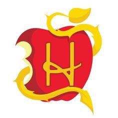 Descendants Apple Letter H