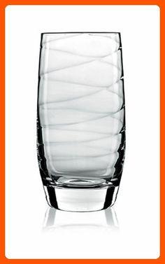 Luigi Bormioli Set of 4 Romantica Beverage Glasses, 19-Oz. - Improve your home (*Amazon Partner-Link)