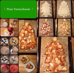 Diese hübschen Tannenbaum-Pizzen sind schnell gemacht, knusprig und lecker und in den Weihnachtstagen auch mal noch etwas anderes Leckeres neben den vielen feinen Weihnachtsbraten und …