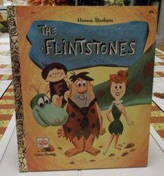 The Flintstones HannaBarbara a Little by TheLazyBeeBookstore, $9.99