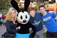 Toursies with Oswald the Lucky Rabbit