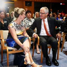 Malcolm Turnbull, as well as Opposition Leader Bill Shorten, was among those who enjoyed D...