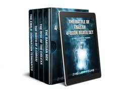 Books 1-4 of my bestselling sci-fi series The Battle of Eiglexx.