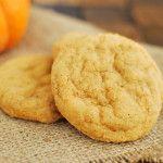 Pumpkin Pudding Snickerdoodles