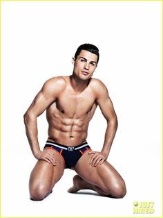 Cristiano Ronaldo Displays His Amazing Shirtless Body in His Underwear for New CR7 Campaign!