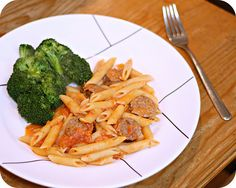 Penne with Vodka Sauce and Italian Sausage by kae71463, via Flickr