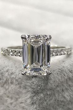 Fine Rings Other Rings Responsible 10 Ct Canary Emerald Cut Ring Vintage Top Russian Quality Cz Extra Brilliant 8