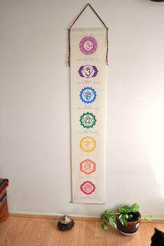 Sala Yoga, Art Chakra, Meditation Altar, Spiritual Meditation, Neon Gas, Hanging Banner, Canvas Art, Canvas Prints, Yoga Gifts