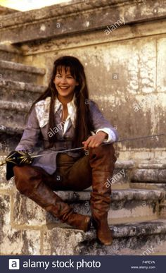 Sophie Marceau / D'Artagnan's Daughter / 1993 directed by Bertrand Tavernier Stock Photo