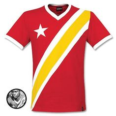 Camiseta Retro de Congo 1968 Naciones Africanas