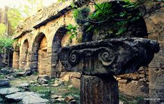 Seleucia Manavgat, by Emre Uyar Antalya, Side, Ancient Ruins, Anthropology, Archaeology, History, Places, Travel, Beautiful