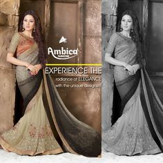 Experience the radiance of elegance with the unique designs from Ambica Fashions  www.ambicasurat.in #FashionTrendsInIndia #IndianFashion #FashionWithAmbica