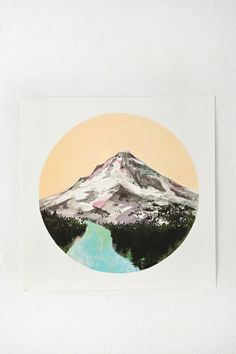 Cathy McMurray Mountain Print