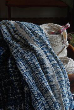 handspun indigo dye cotton