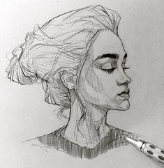 "12.2 mil Me gusta, 63 comentarios - Efraín Malo (@maloart) en Instagram: ""✍️ #graphgear1000 #sketching #mechanicalpencil"""