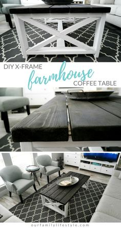DIY X-Frame Farmhous