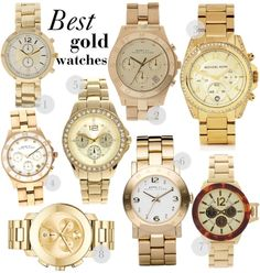 be04e1a7102 14 Best Gold watch images