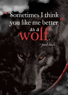 I love when the wolf devours me