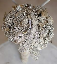 "Brooch bouquet.<3<3 our pins?  ""LIKE"" us at: https://www.facebook.com/bound4burlingame to get camping tips, recipe ideas, DIYs, outdoor ideas and sensational finds on your newsfeed."