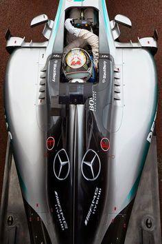 Pole sitter Lewis Hamilton ready to head onto circuit