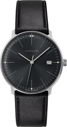 @junghansgermany  Max Bill Gents Quartz #best-seller-yes #bezel-fixed #bracelet-strap-leather #brand-junghans #case-depth-7-9mm #case-material-steel #case-width-38mm #date-yes #delivery-timescale-7-10-days #dial-colour-black #gender-mens #luxury #movement-quartz-battery #official-stockist-for-junghans-watches #packaging-junghans-watch-packaging #style-dress #subcat-max-bill #supplier-model-no-041-4465-01 #warranty-junghans-official-2-year-guarantee #water-resistant-waterproof