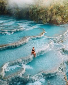 Natural springs pools in Toscana Italy Like if you'd want to visit! Vacation Places, Dream Vacations, Vacation Spots, Beautiful Places To Travel, Cool Places To Visit, Places To Go, Destination Voyage, Future Travel, Travel Aesthetic