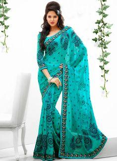 Fashionable Sky Blue