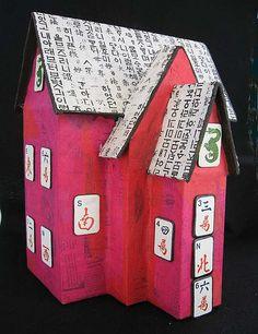 Paper Mache House 4 by Artist Heart, via Flickr