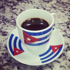 Cafecito cubano...Cuban coffee..the best!