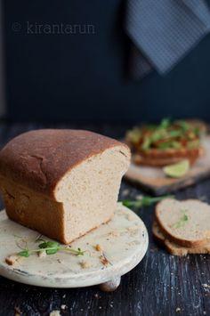 Whole Wheat Honey Bread   KiranTarun.com