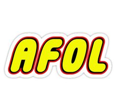 """""""AFOL by Customize My Minifig"""" Stickers by ChilleeW   Redbubble"""
