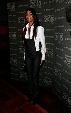 Charming seductress Zoe Saldana
