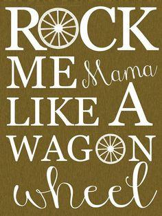 Darius Rucker- Wagon Wheel ♥