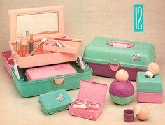 Who else had a Caboodles case when they were young?