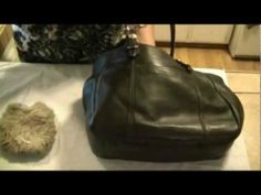 How to clean a Coach Leather Bag. Restore Shine & Protect Your Designer Bag for A Long Life!