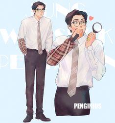 Kpop, Pentagon Wooseok, Cube Entertainment, K Idols, Art Reference, Cool Art, Anime, Fan Art, Cartoon